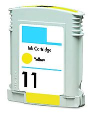 HouseOfToners Remanufactured Replacement for HP 11 (C4838AN) Yellow Ink Cartridge