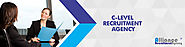 C Level Recruiters & C Level Recruitment Agencies