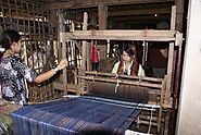 Chau Giang Cham Brocade Weaving-Making Village