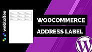 How to setup WooCommerce Address Label-WordPress plugin