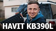 Havit KB390L Review - The BEST Mechanical Keyboard for Laptop Gamers