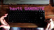MechaKeys - havit GAMENOTE Low-Profile Keyboard (HV-KB390L)