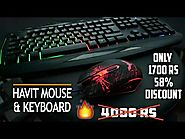 Best Cheapest Gaming Keyboard & Mouse | Havit HV-KB558CM Review !