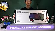 $40 Gaming Keyboard and Mouse