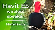 Havit E5 wireless speaker hands-on!