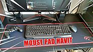 UNBOXING DO MOUSE PAD GAMER HAVIT - HV MP830 90X30cm