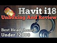 Havit i18 ultra comfort wireless bluetooth headphones Unboxing and R| Best headphones under 2000INR