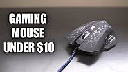 A GAMING MOUSE FOR $7.99! Havit HV-MS672 Gaming Mouse Review!