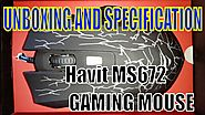 UNBOXING OF MY NEW GAMING MOUSE | Havit MS672 LED GAMING MOUSE