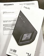"CHANDRU BROS FORT🇮🇳 on Instagram: ""Enjoy your new #havit #bluetoothspeaker Mr.Ashwin from bengaluru via #amazon #havi..."