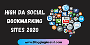 Top 40+ High DA Social Bookmarking Sites 2020 to Boost Ranking