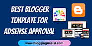 15 Best Premium looking Blogger Template For Adsense Approval