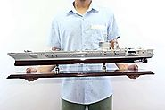 USS Nimitz (CVN-68) Aircraft Carrier Model by Modelworksdirect.com