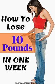If you want to know how to lose 10 pounds in one week then you are at the right place. In this guide, we go into… | L...