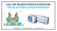 Now Call The Nearest Service Center For Voltas AC Installation Hyderabad