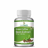 LeanHealth Green Coffee Bean Extract- 800mg - 60Capsules (Pack of 1)