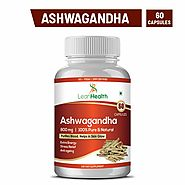 LeanHealth Ashwagandha Extracts 60 capsules