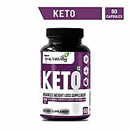 Farmity Keto Advanced Weight Loss Supplement (With CLA 60%) Sustained Energy & Boost Metabolism, 60 Capsules (800 Mg)