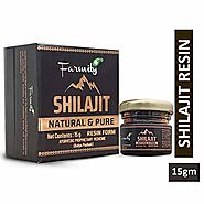 Farmity Natural & Pure Raw Shilajit | Shilajeet Ayurvedic Resin | Supports Strength, Stamina, Energy for Men & Women–...