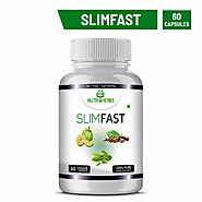 Nutriherbs Slimfast Garcinia Cambogia, Green Coffee, Green Tea Combo - 60 Capsules Weight Loss (Pack of 1)
