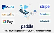 Top 7 payment gateway for your eCommerce business.