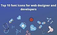Top 10 font icons for web designer and developers - Electronthemes