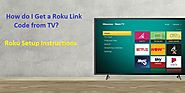 How do I Get a Roku Link Code from TV? – Roku Setup