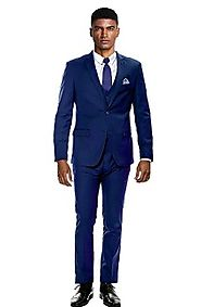 Check out the latest trends in skinny fit prom suits