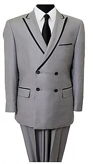Look your best in our stylish range of double breasted suits for men