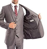 Dress to impress with our selection of designer suits for men