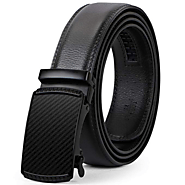 Men's Leather Belt, Ratchet Dress Belt with Automatic Buckle in Gift B – JASGOOD OFFICIAL