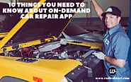 10 Things you need to know about on-demand car repair app in 2020