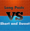 Long Posts vs. Short Posts: 10 Things To Consider