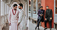 This NRI Gay Couple Are Setting Some Major Groom Goals In Anita Dongre Outfits!