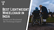 Best Lightweight Wheelchair In India 2020 (Buyers Guide) | Techyuga