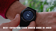 Best Smartwatches Under 2000 In India (Buyer's Guide - 2020)