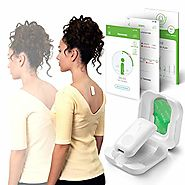 Upright GO 2 NEW Posture Trainer and Corrector for Back | Strapless, Discreet and Easy to Use | Complete with App and...