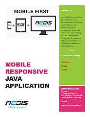 Benefits of mobile Responsive Java Application