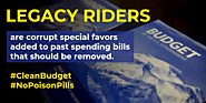 Congress Should Remove Legacy Riders From FY 2021 Spending Bills