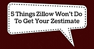 5 Things Zillow Won't Do To Get Your Zestimate - Birmingham Appraisal Blog