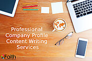 Professional Company Profile Content Writing Services