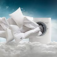 Toss Comforters into the Washing Machine