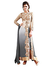 Time to Style your Crepe Salwar Kameez