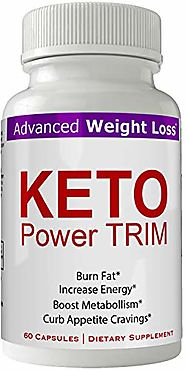 Keto Power Trim Weight Loss Pills - Keto Power Trim Pills Keto BHB Capsules Keto Trim Diet 60 Capsules Advanced Weigh...