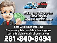 WE BUY ALL TYPES OF CARS AND TRUCKS IN ANY CONDITION