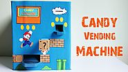 How to make a Candy Vending Machine using Cardboard at home|| Easy-to-Make|| 100% Working