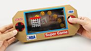 How to Make Mini Basketball Game from Cardboard