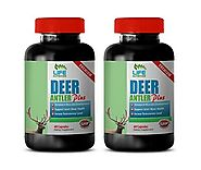 Details about  Extreme Muscle Growth Capsules - Deer Antler Plus 555mg - Deer Antler Velvet 2B