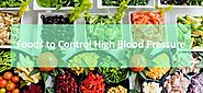 Control blood pressure through nutrients