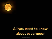 Next Supermoon: 2020-2021 Dates for Next Supermoon